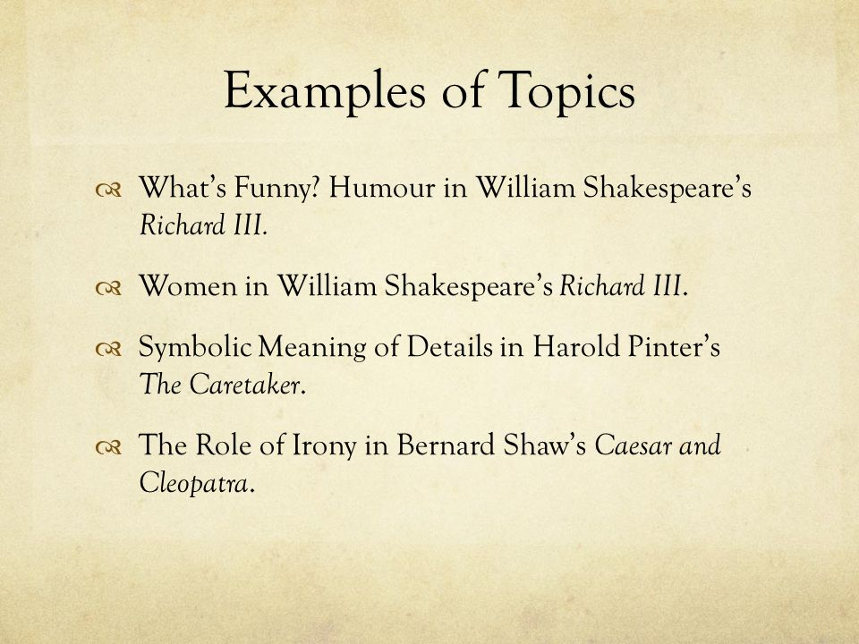 William Shakespeare Short Biography SlideShare