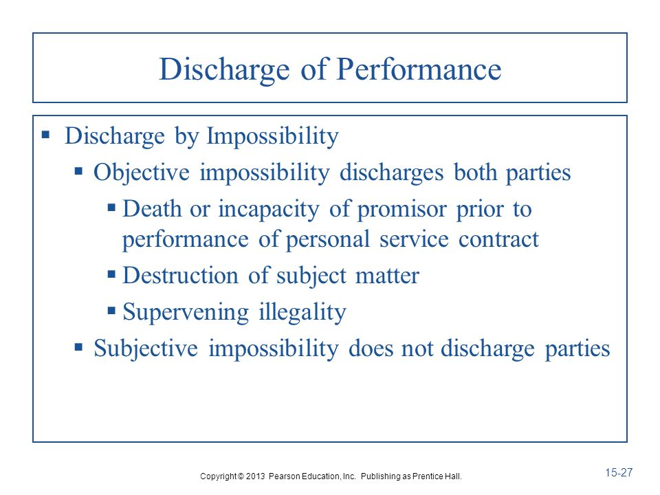 25-1 Chapter 15 Third-Party Rights And Discharge. - Ppt Download
