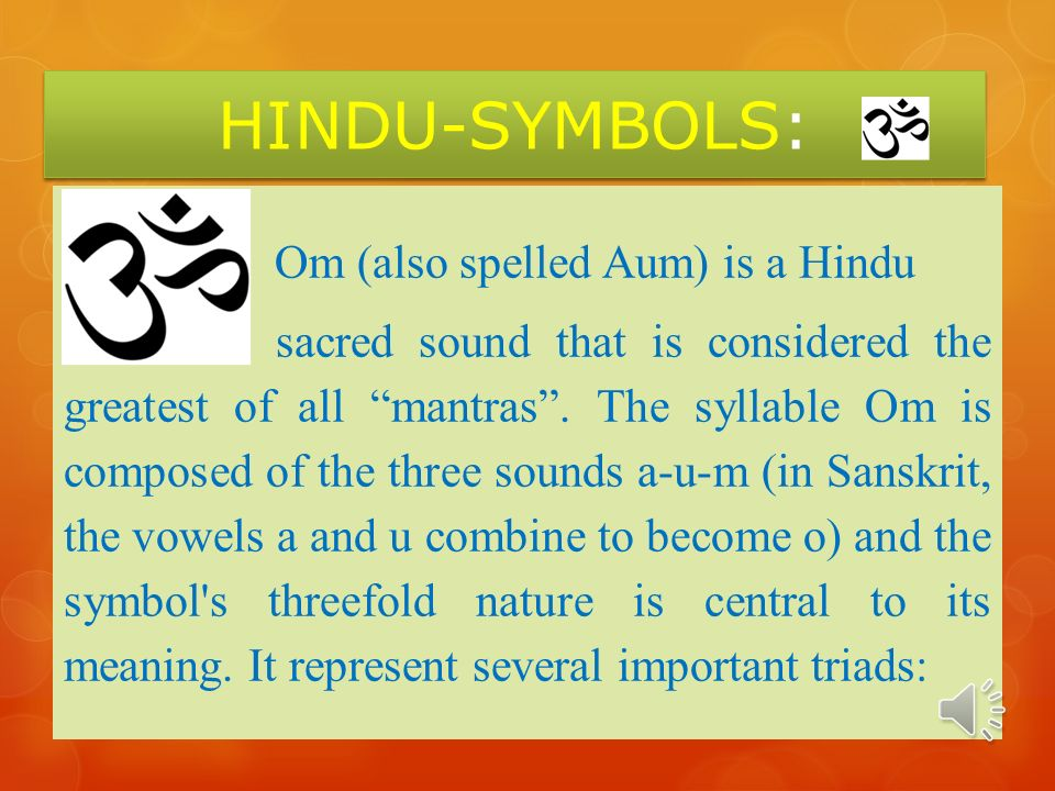 Hindu Symbols A Variety Of Hindu Symbols Are Used In Art Sacred