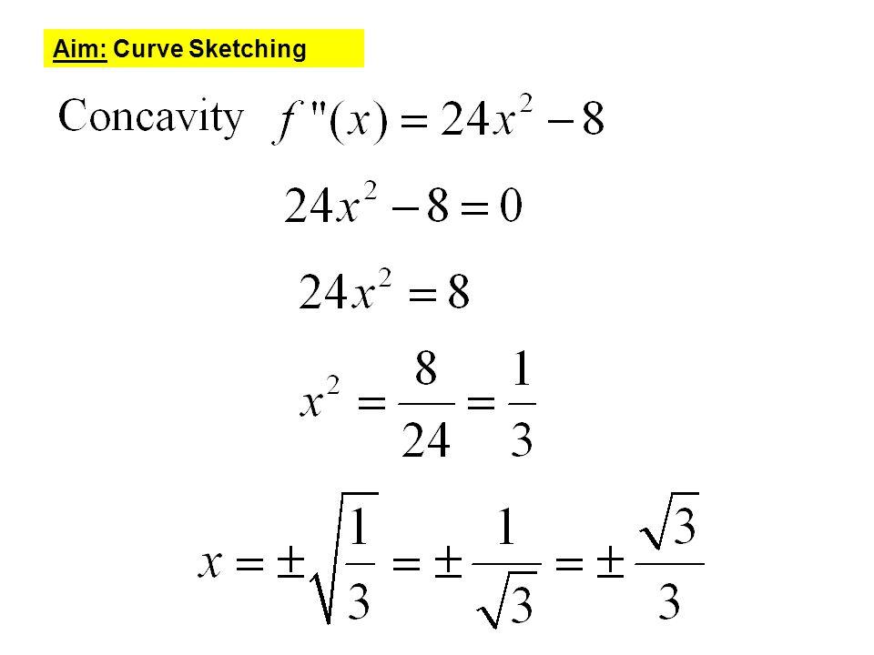 Curve Sketching Worksheet Photos - Leafsea