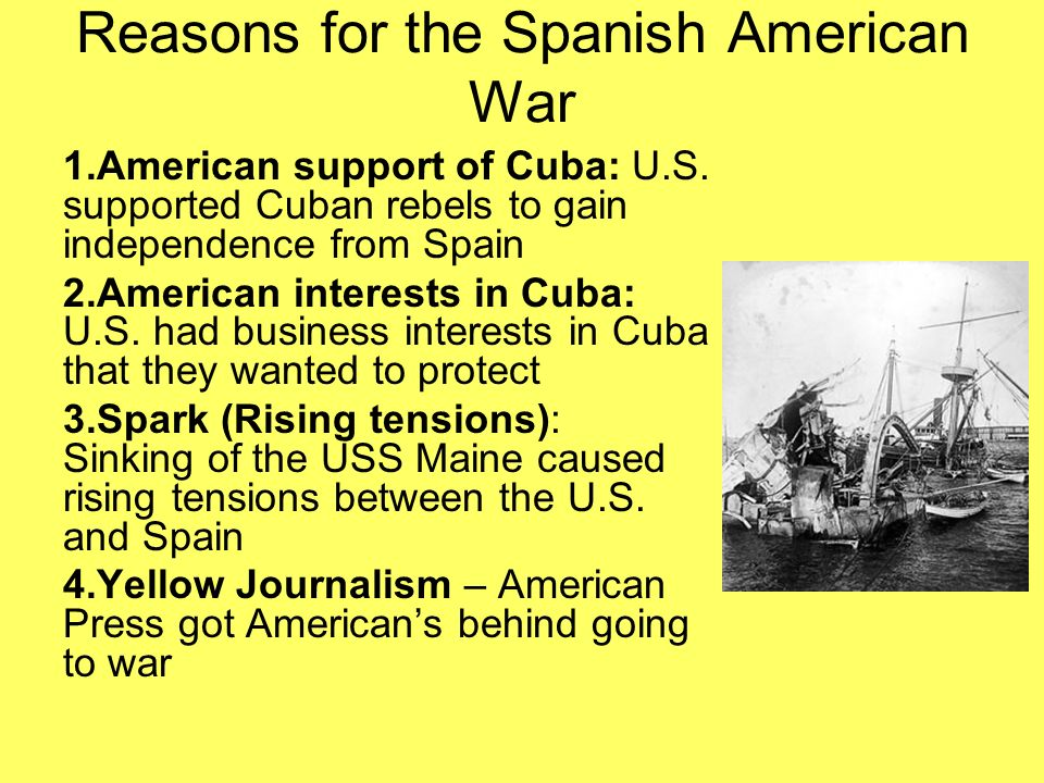 the underlying factors that caused the spanish american independence Free american revolution the underlying causes of the american revolution were of the greatest factors inspiring the american public to rebel in the.