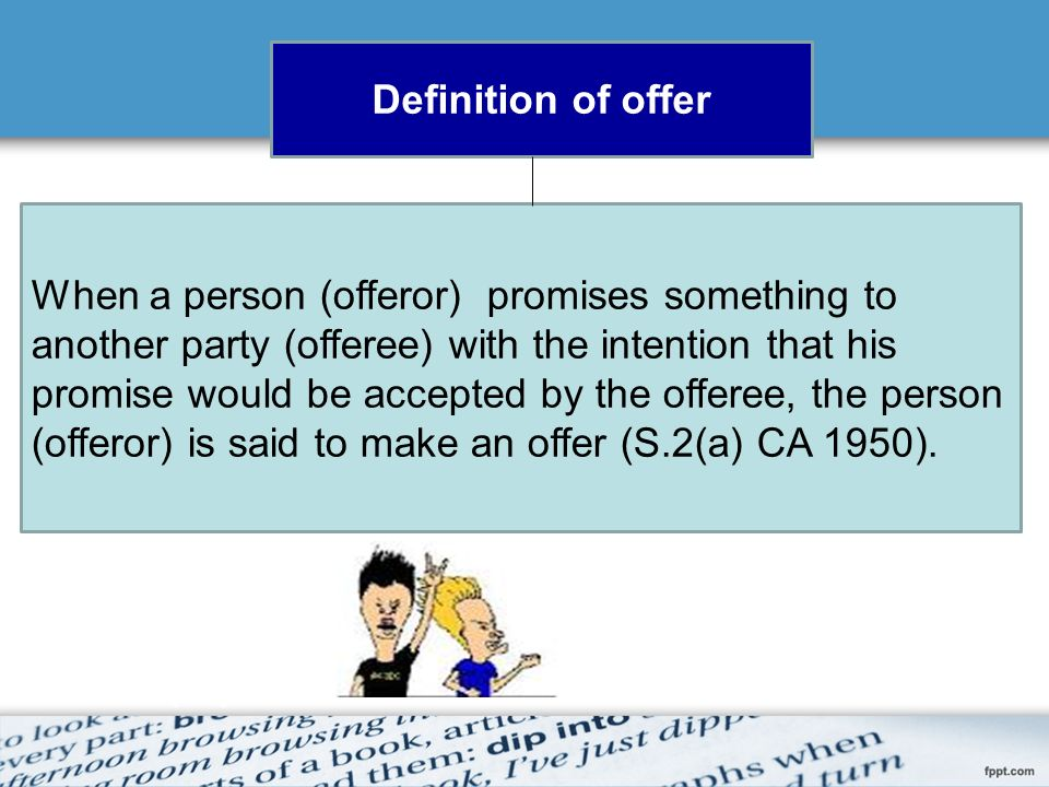 Chapter 2 law of contract what is a contract an agreement which 5 offer definition how an offer could be made types of offer condition of an offer offer distinguished from invitation to treat termination of offer stopboris Choice Image