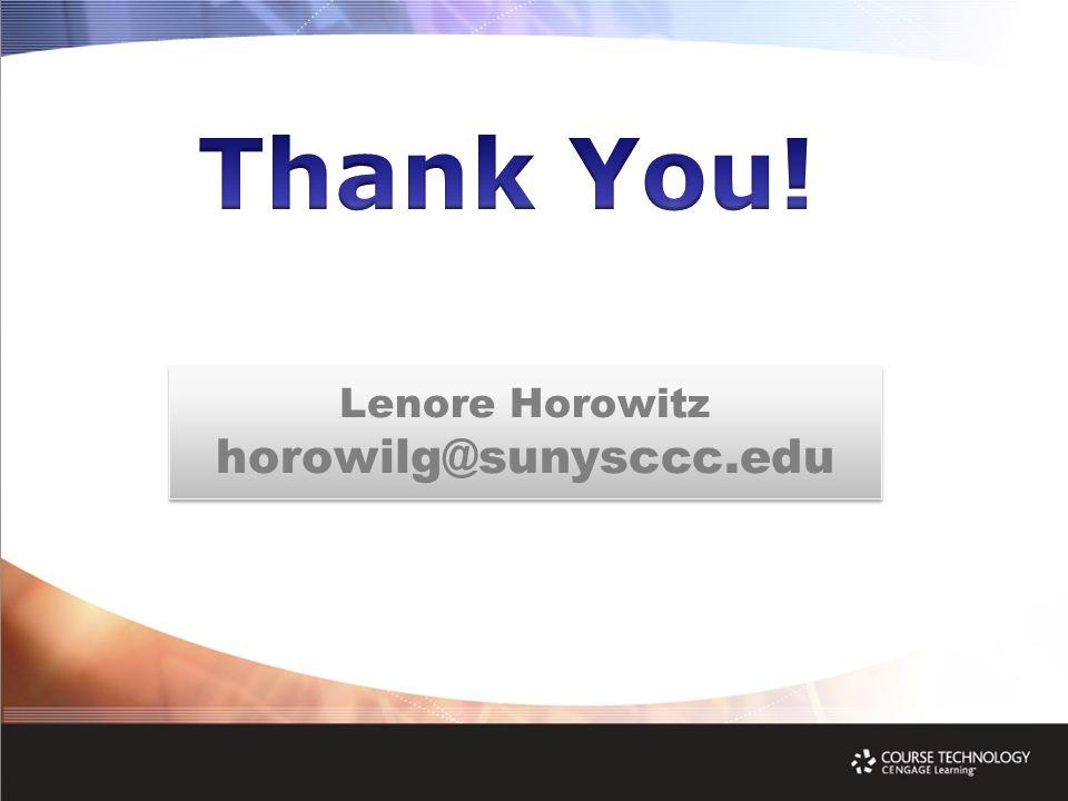 Lenore Horowitz