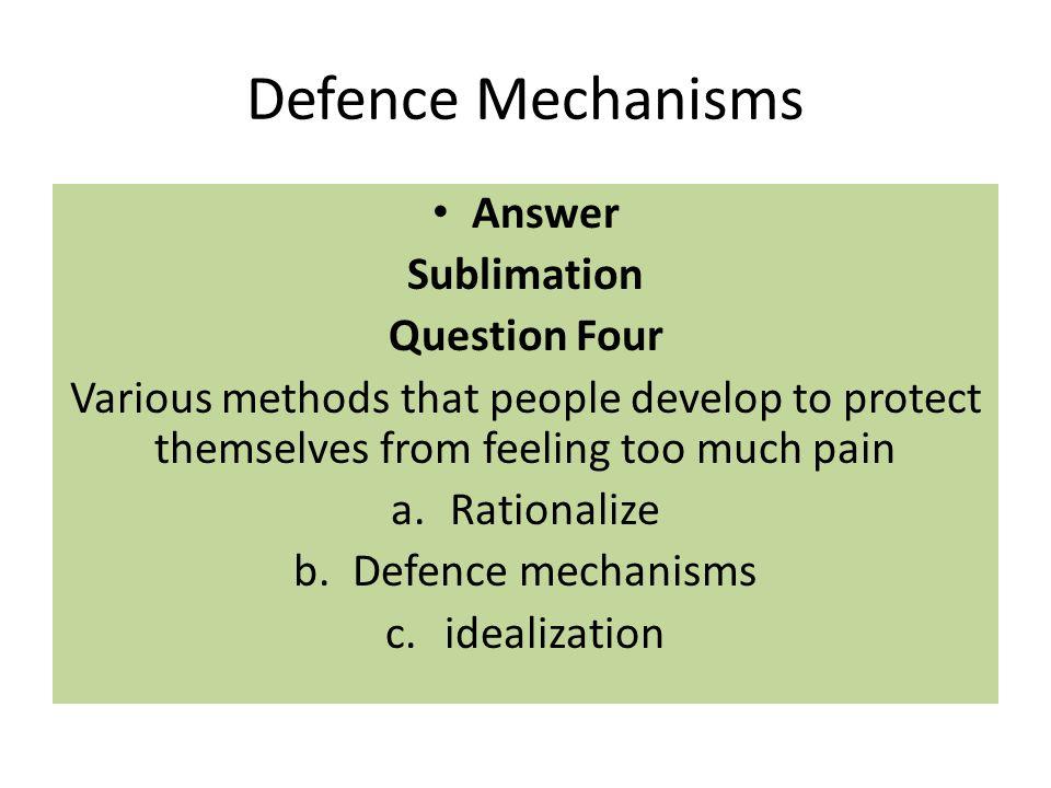 Quiz &amp- Worksheet - Freudian Defense Mechanisms | Study.com