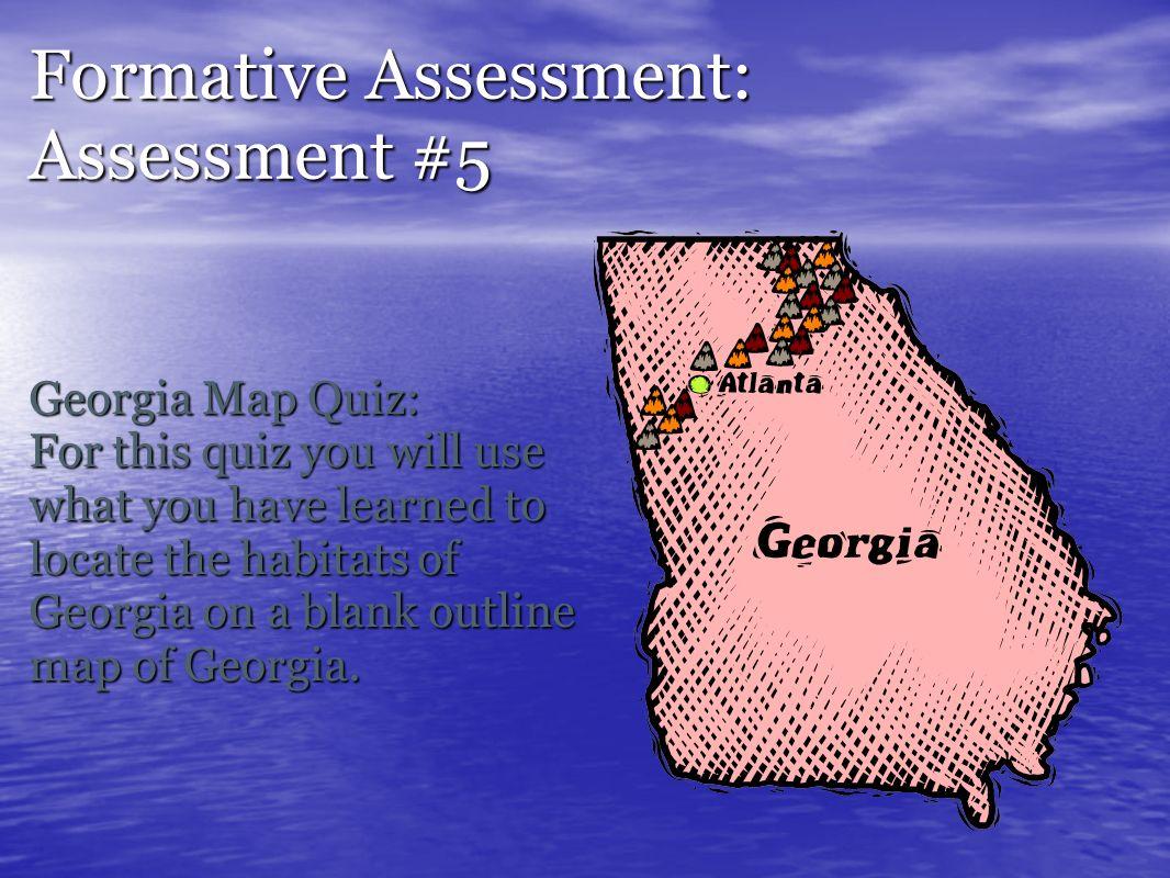 Assessment Photo Album Name Kristy Wilson Subject Science Grade - Georgia map quiz