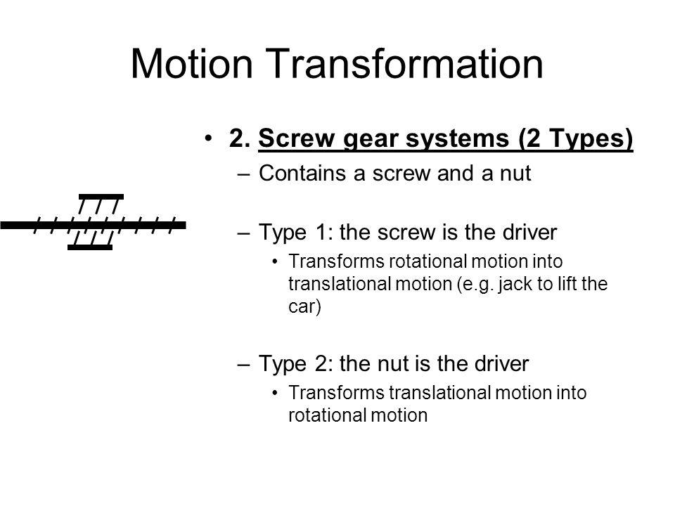 Motion Transformation 2.