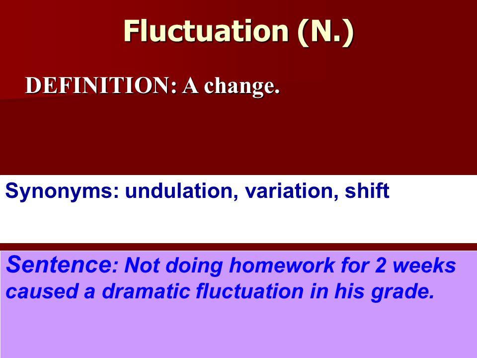 Delightful 5 Fluctuation ...