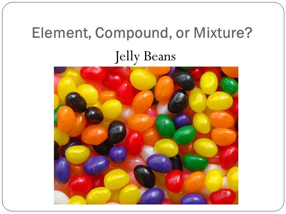 Element, Compound, or Mixture Jelly Beans
