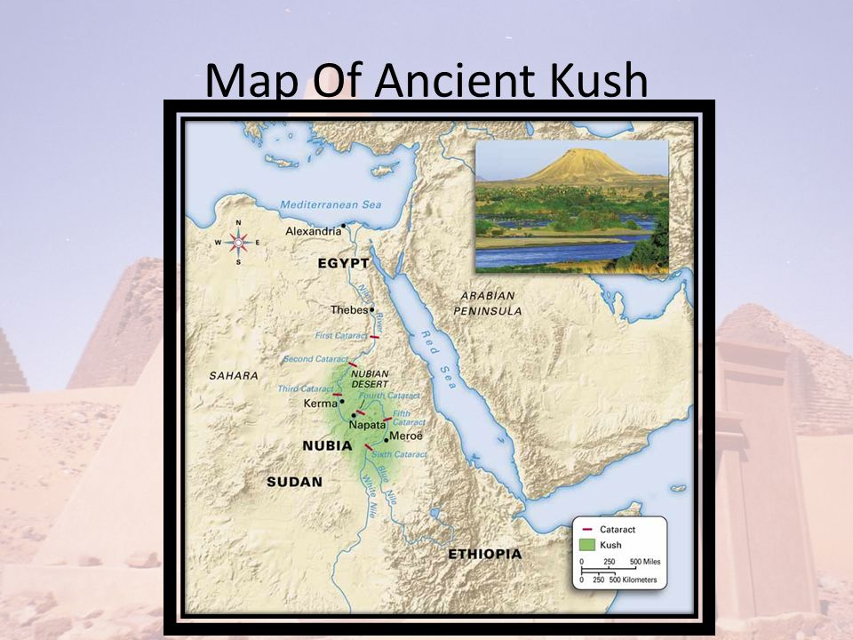 History Of Ancient Kush Map Of Ancient Kush Geography Of Ancient - Map of egypt kush