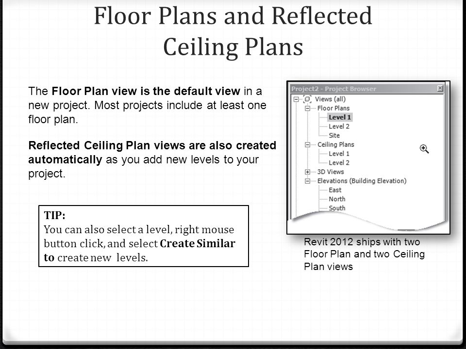 Views Revit® Architecture CHAPTER OBJECTIVES Understand and use ...