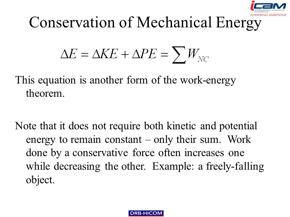 Conservation Of Mechanical Energy Equation 35989 Movieweb