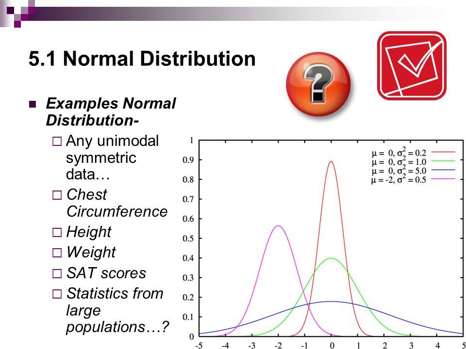 statisitcs normal distribution
