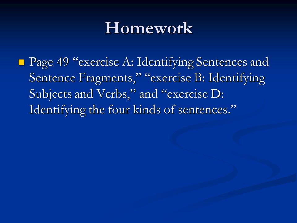 fragments sentence predicate