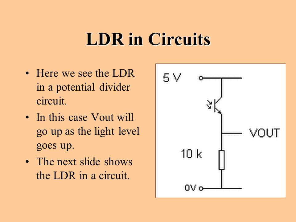 Resistive Transducers Sensors Used in Electronics. - ppt download