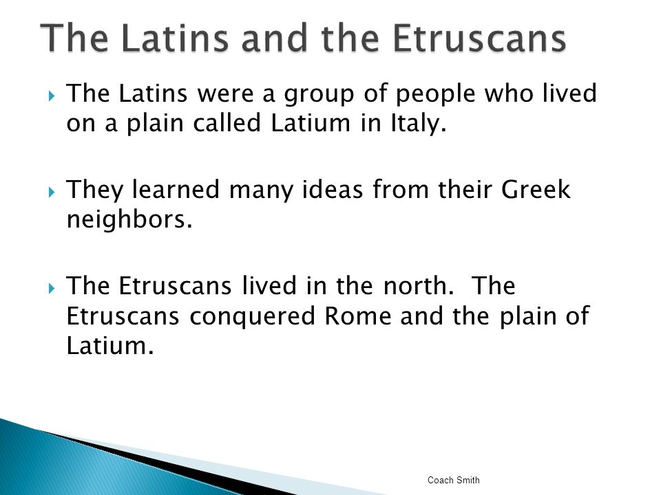 People who conquered latins