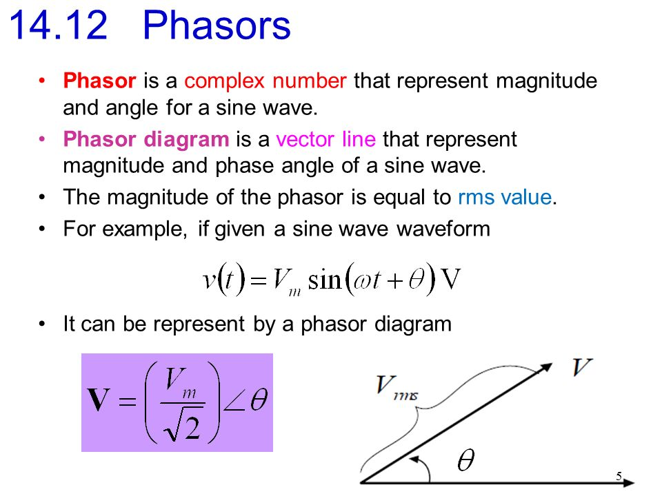 1 electrical circuit et 201 define and explain phasors time 5 phasor ccuart Image collections