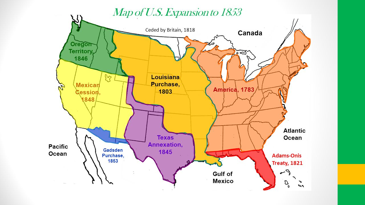 American Progress John Gast American Progress John Gast - Map of us in 1821