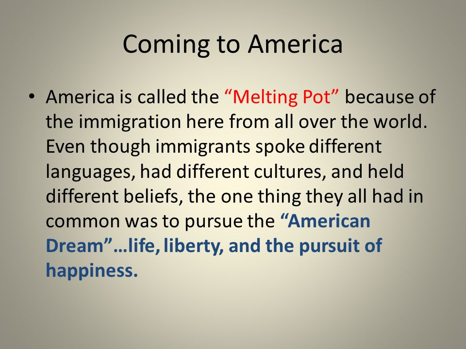 an analysis of the definition of melting pot Definition of the melting pot – our online dictionary has the melting pot information from immigration and multiculturalism: essential primary sources dictionary.