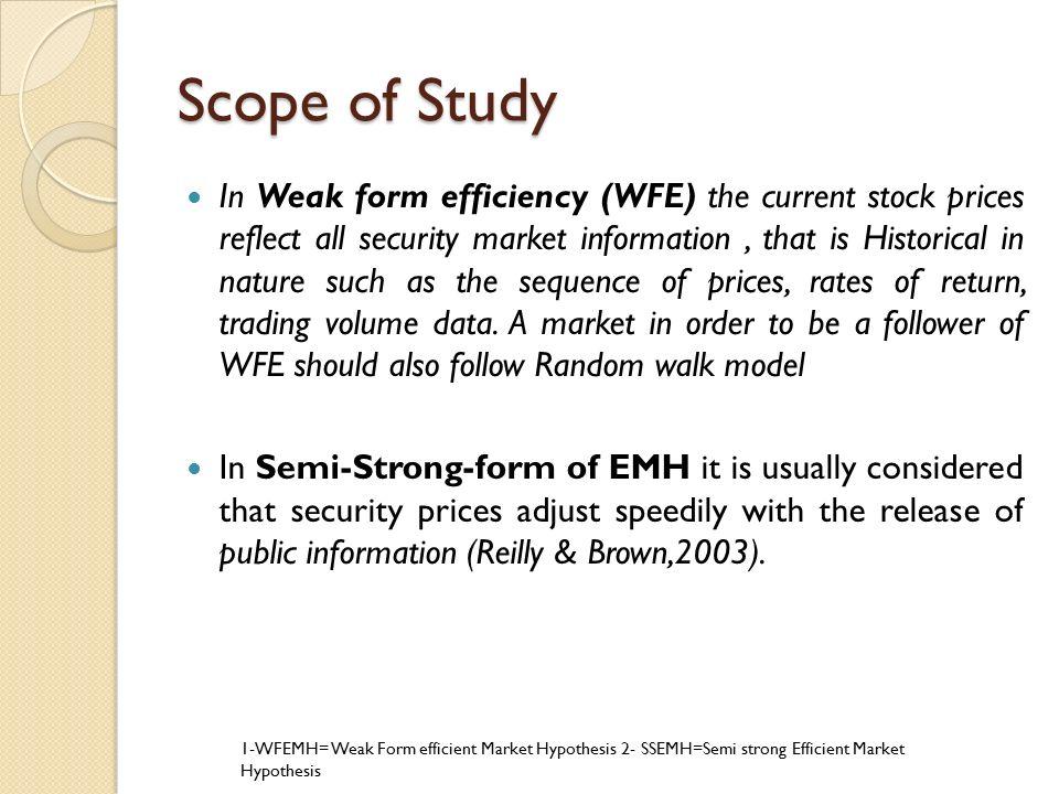 Efficient Market Hypothesis: Evidence From Karachi Stock Exchange ...