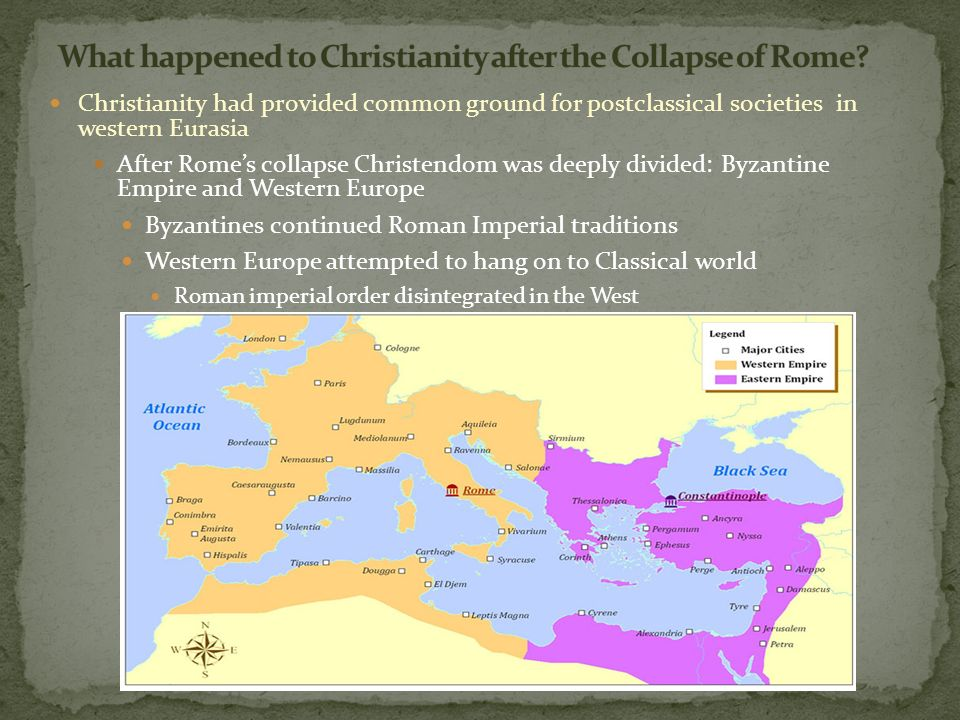 compare and contrast byzantine empire with western europe