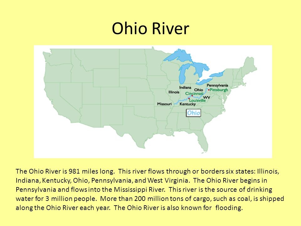 Exploring US Rivers And Mountain Ranges A River Is A Large - Us map west of mississippi river