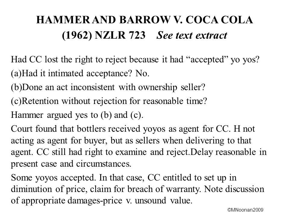 ©MNoonan2009 HAMMER AND BARROW V.