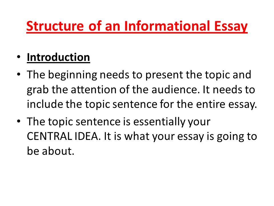 what to include in an introduction