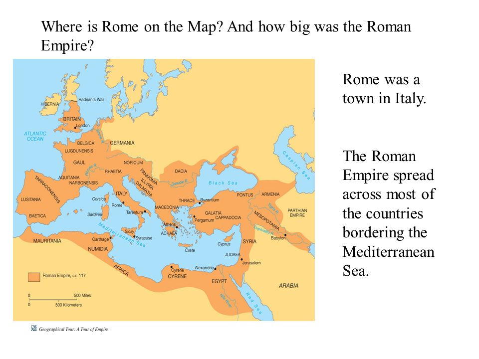 Who Were They When Were They Around Where Did They Come From - Where is rome