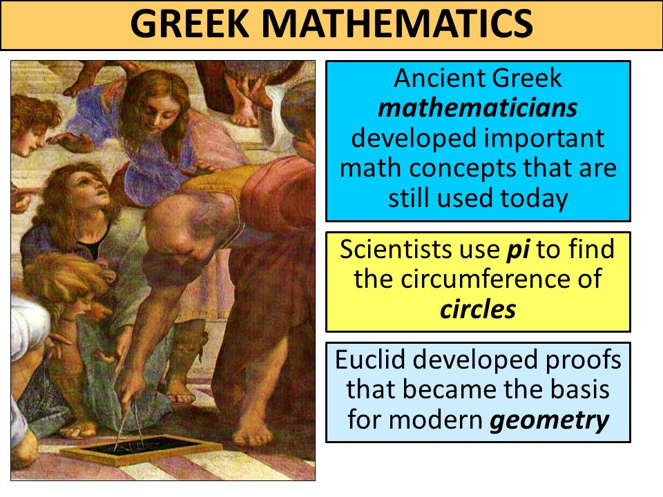 ancient greeks and mathematics science and Science, tech, math science a history of ancient greek physics share flipboard jones, andrew zimmerman a history of ancient greek physics thoughtco.