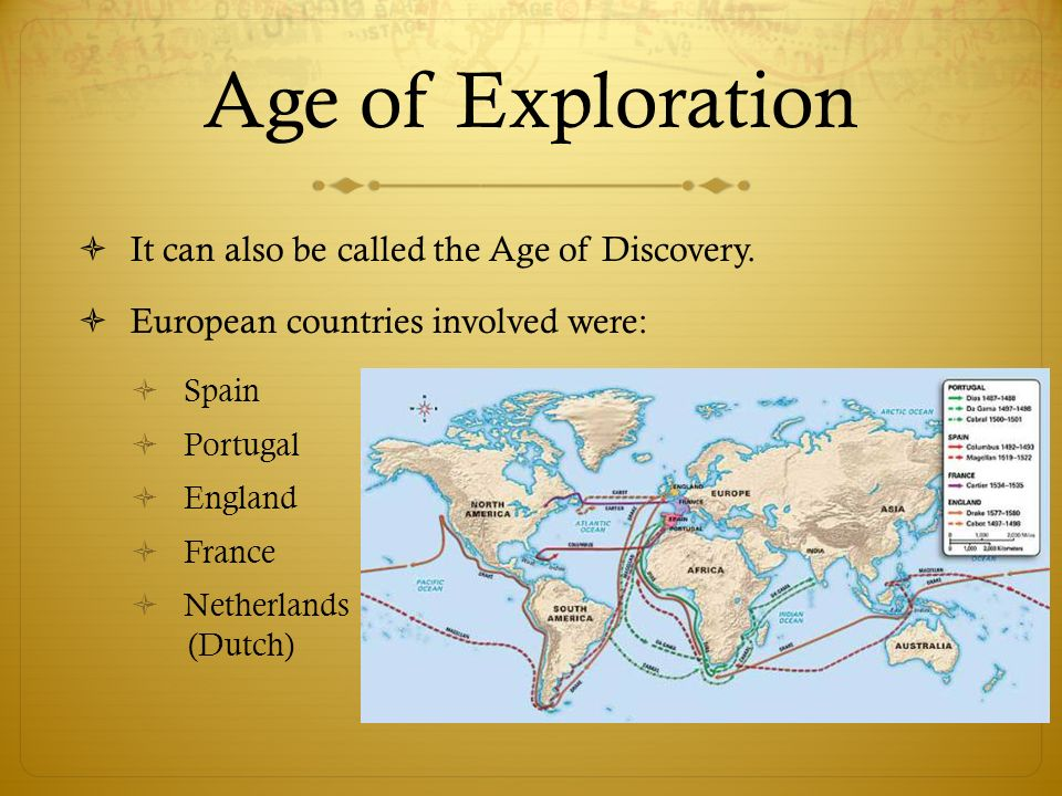 the effects of the age of exploration in europe European exploration of the new world did the benefits of exploration outweigh its consequences it was nearly impossible to reach asia from europe by land.