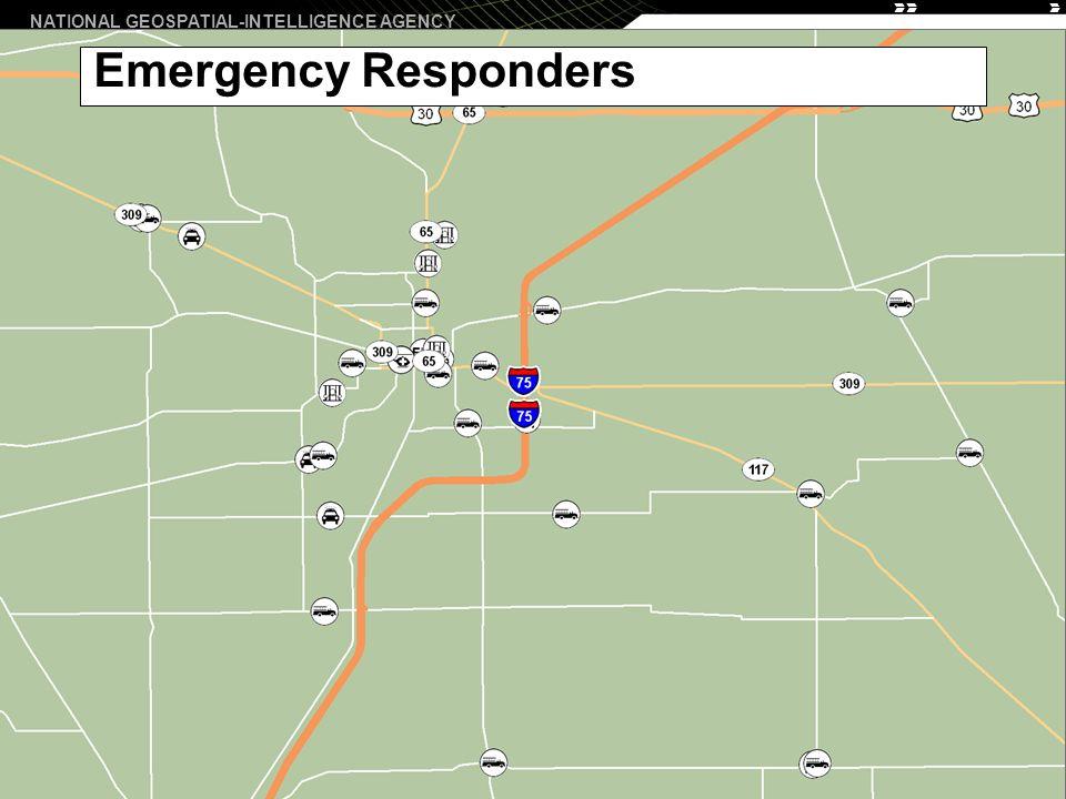 NATIONAL GEOSPATIAL-INTELLIGENCE AGENCY 10 Emergency Responders