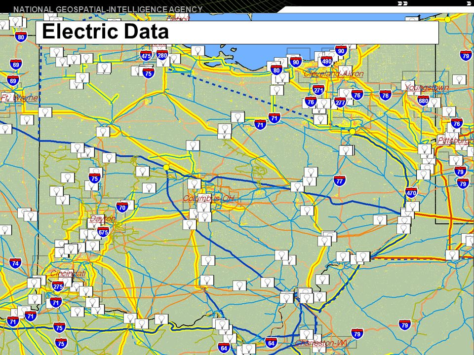 NATIONAL GEOSPATIAL-INTELLIGENCE AGENCY 8 Electric Data