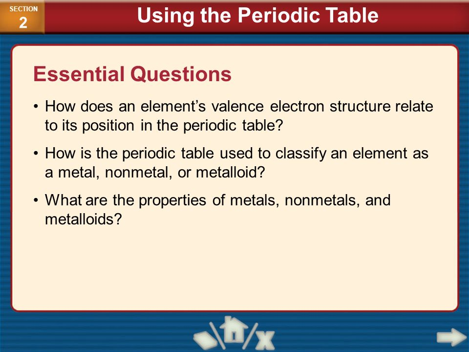 Periodic Table physical properties of elements on the periodic table luster : CHEMISTRY: Concepts and Applications - ppt video online download