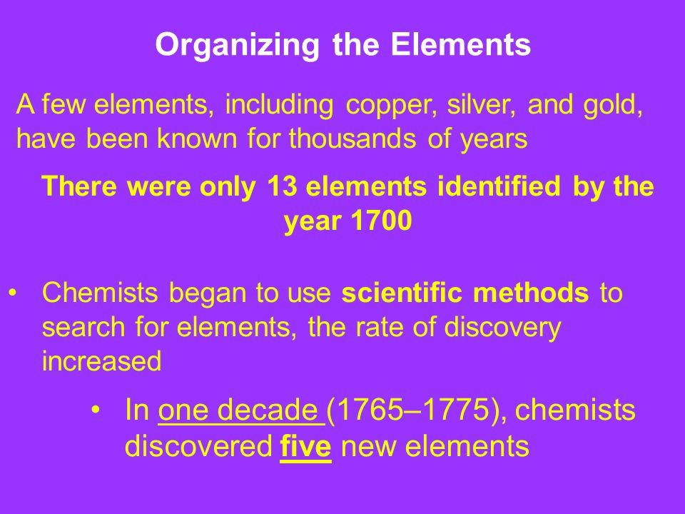 The periodic table chapter 6 httpsyoutubewatchv 2 organizing the elements urtaz Choice Image