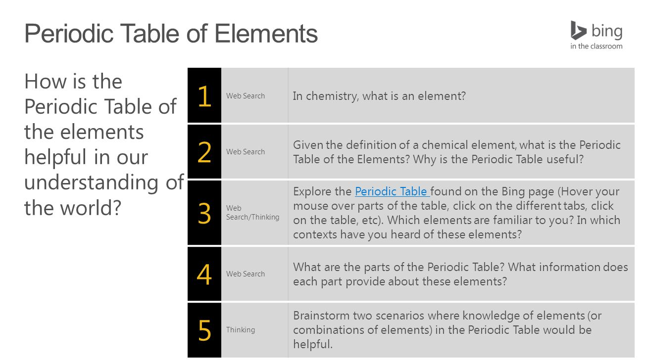 1 web search in chemistry what is an element 2 web search given 8 1 gamestrikefo Image collections