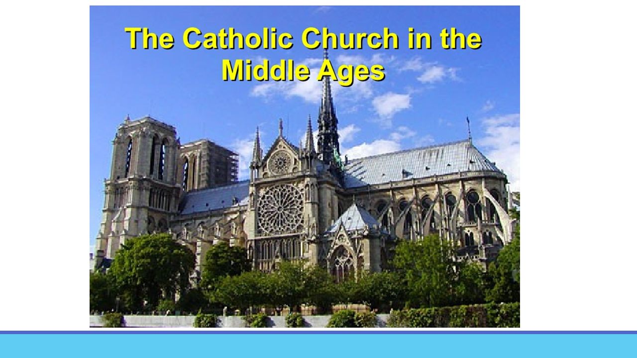 the role of the catholic church in the middle ages Find out more about the history of middle ages, including videos, interesting articles the catholic church became the most powerful institution of the medieval.