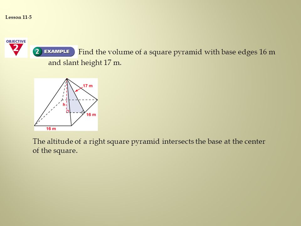 How to find the volume of a prism cylinder pyramid cone and 16 find ccuart Choice Image