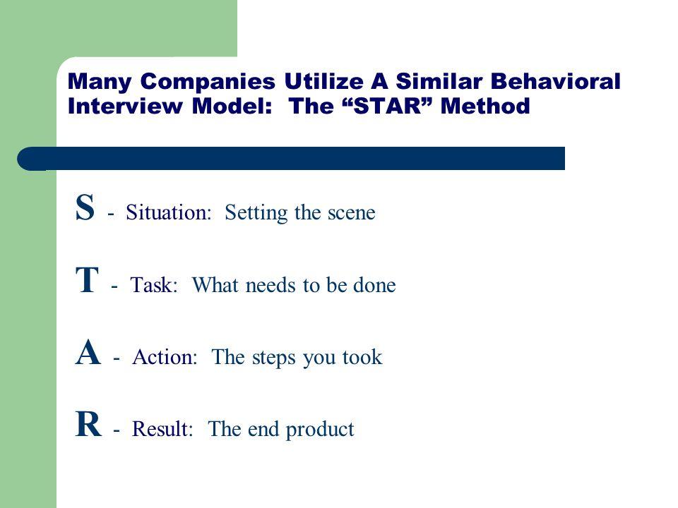 interview star method