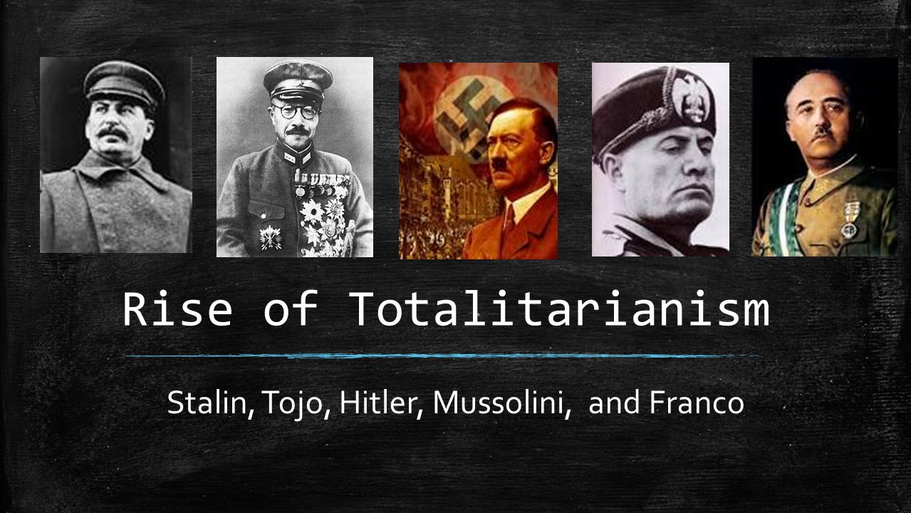 an introduction to the analysis of dictatorship hitler mussolini stalin Curtis concludes that totalitarianism remains a useful term to distinguish systems of a certain kind from dictatorship of the soviet union under stalin.