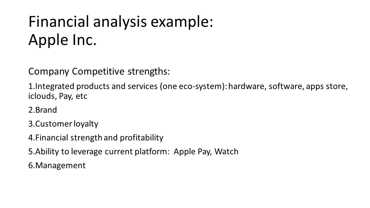 research term paper five major sections company background financial analysis example apple inc