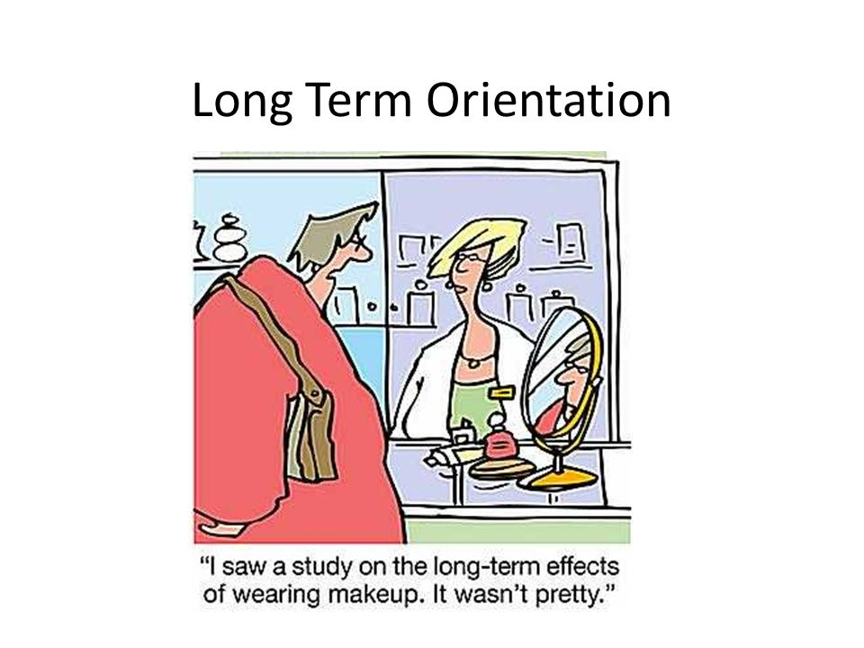 Long Term Orientation
