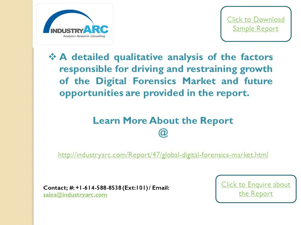 Digital Forensics Market Analysis By Forensic Tools By