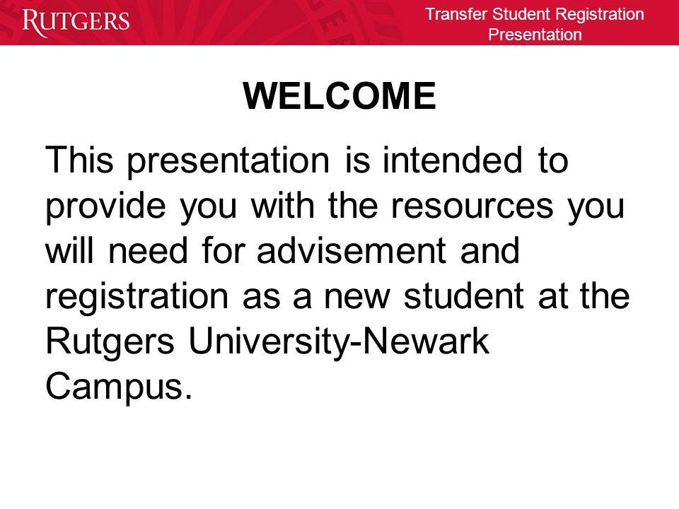 rutgers transfer student essay
