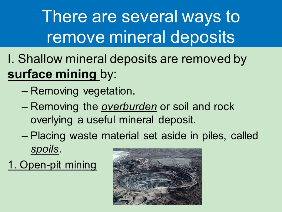 Geology and Nonrenewable Minerals Chapter 12. Case Study: Real ...