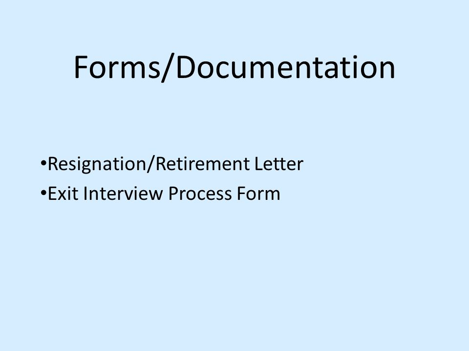 The Termination Process Of An Employee Presented By: Susan