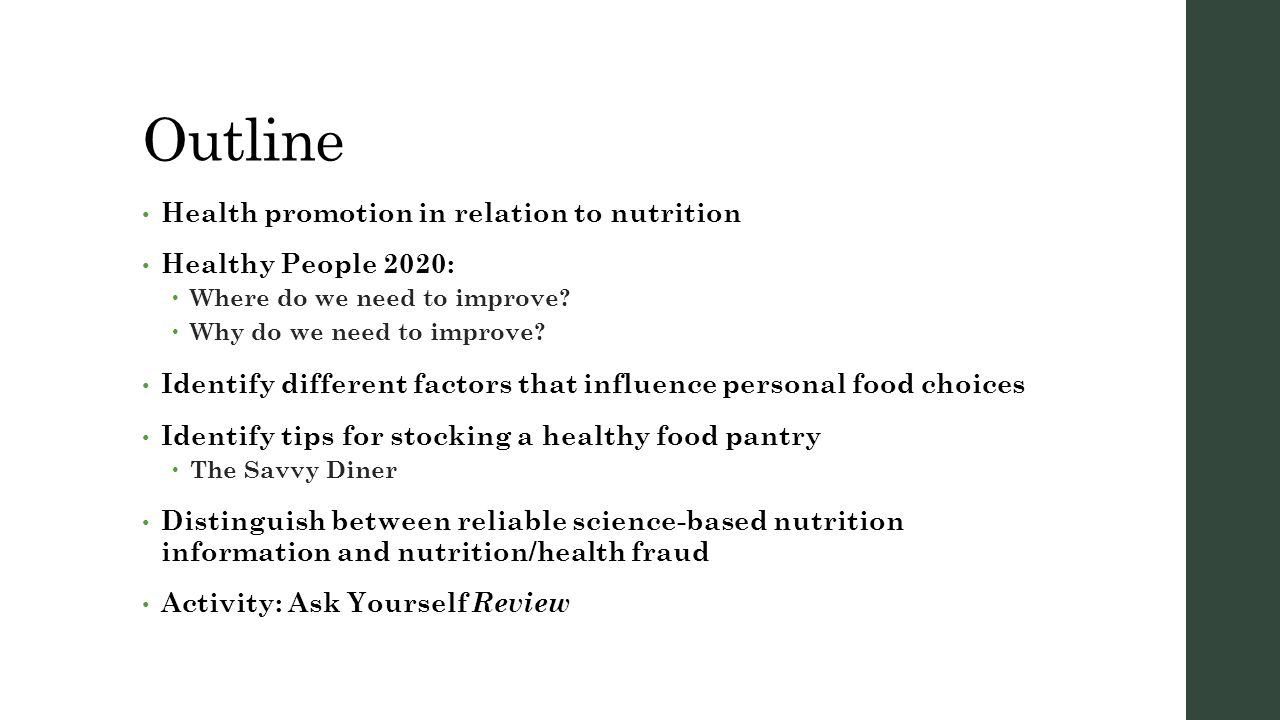 the basics of understanding nutrition chapter 1 part 1 fcs 342