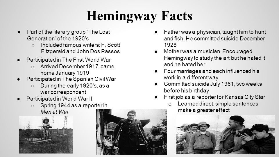 "the lost generation and jazz age in the works of ernest hemingway and f scott fitzgerald It was f scott fitzgerald, who introduced hemingway to chronicler of the jazz age the expression of ""the lost generation"" in the work."