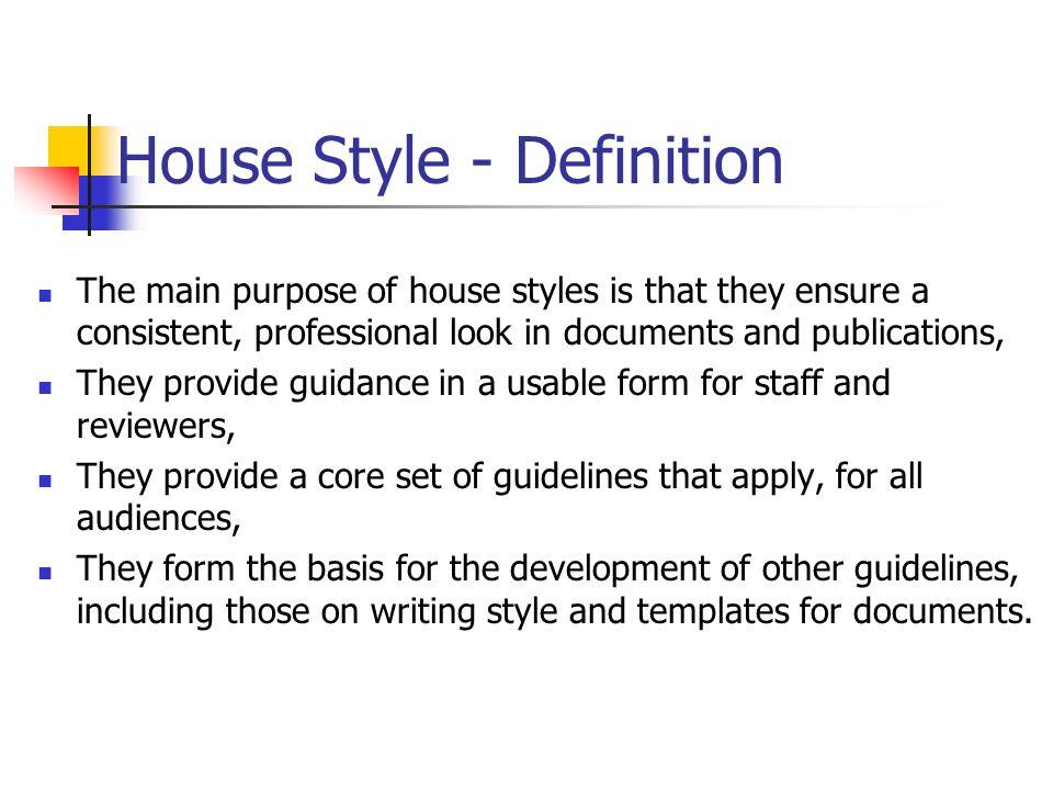 Corporate house style teach ict