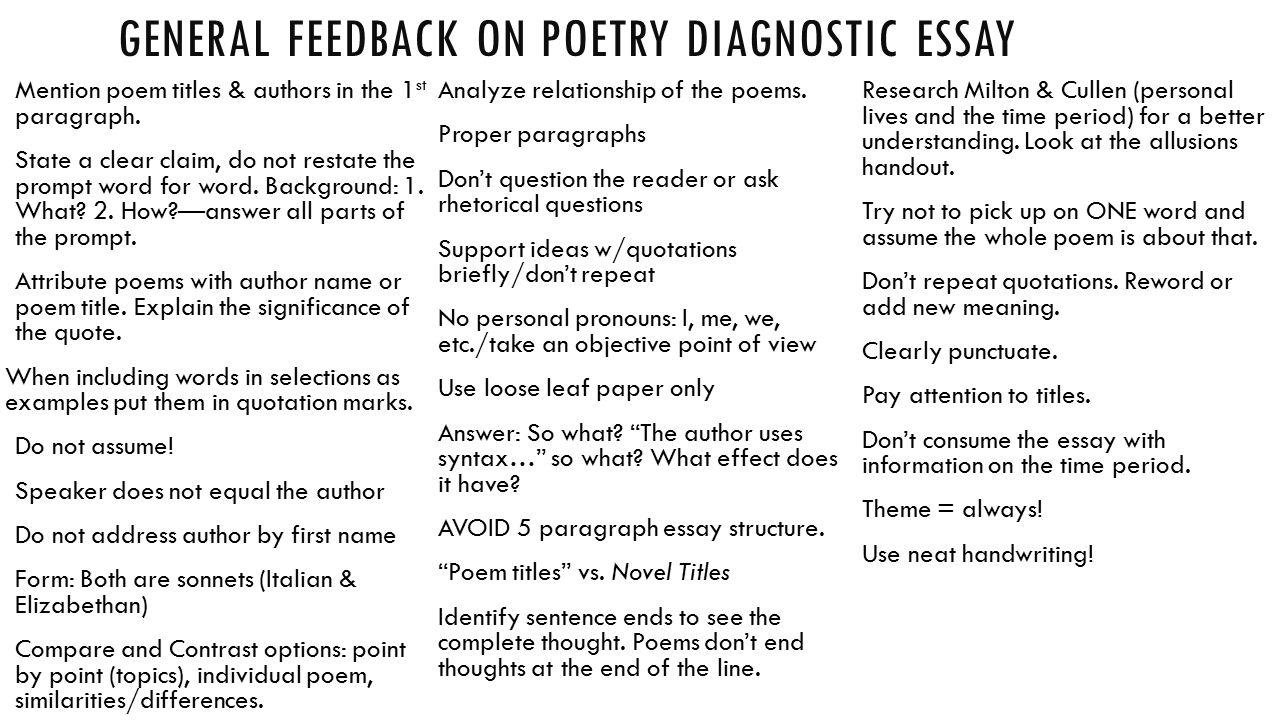 english 11 h diagnostic essay Writing an english regents essay task essay can be simple as long you follow your teacher's instructions and read the exam's guidelines the regents exam for english is conducted in four parts labeled: task 1 through 4.
