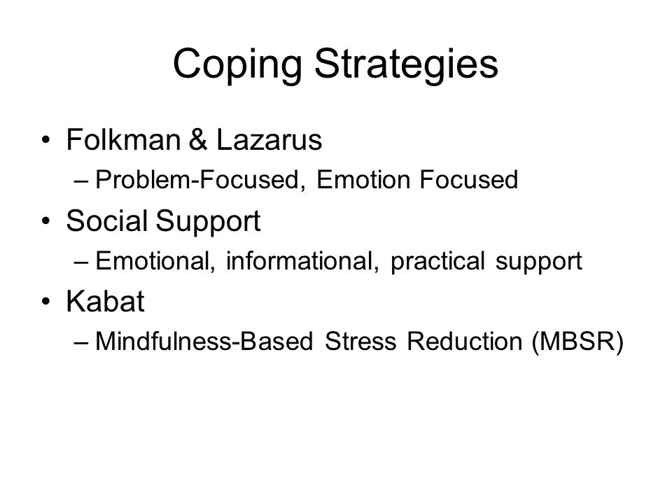 distinguish between problem focused coping and emotion focused This article answers the question: what are the major differences between problem-focused coping and emotion-focused coping provide examples of each that would be applicable to a social or occupational setting.